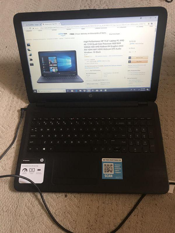 Hp Laptop 15-ba009dx