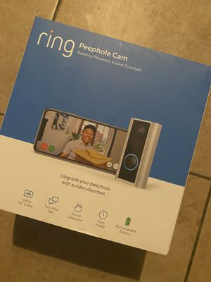 Ring Peephole Cam for Sale in Glendora, CA
