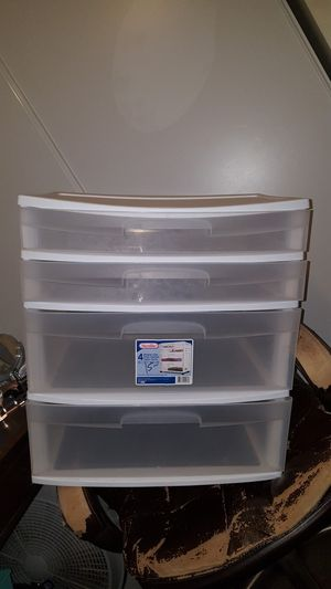 4 Drawer Plastic Cart for Sale in Tacoma, WA
