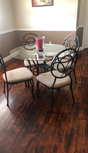 Kitchen table with 4 chairs for Sale in Burtonsville, MD