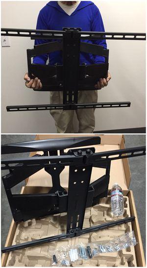 "Brand new universal XL large 37"" to 84"" full motion swivel tilt wall tv mount tv bracket lcd led plasma curved tv for Sale in Whittier, CA"