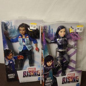 Lot Of 2 Daisy Johnson America Chavez NIB Marvel Secret Warriors for Sale in Vancouver, WA