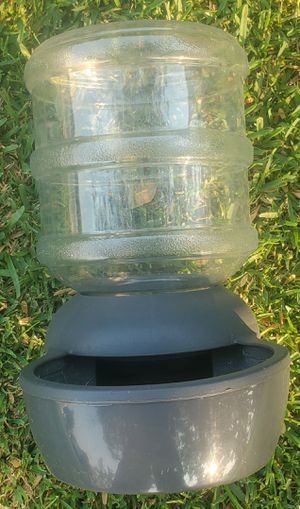water feeder, 2 gallons for Sale in Colton, CA