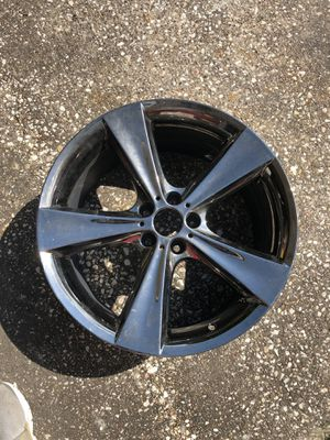 BMW 21 INCH MIDNIGHT CHROME 21x10 OFFSET +40 for Sale in Houston, TX