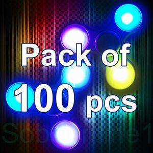 Lot of 100 LED LIGHT UP FIDGET SPINNER 3 lighting modes GREAT GIFT ITEMS for Sale in Atlanta, GA