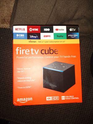 Fire tv Cube, jailbroken, premium apps for Sale in Houston, TX