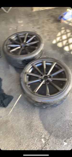 19 inch 5x114.3 black rims for Sale in Boston, MA
