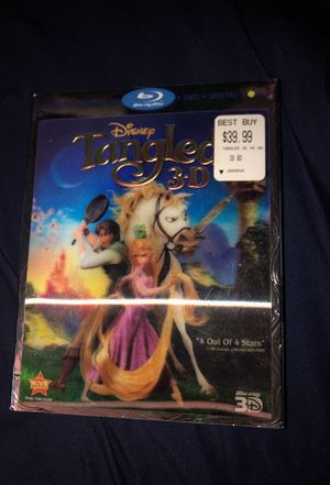 TANGLED 3D BLU RAY DIsc for Sale in Bronx, NY