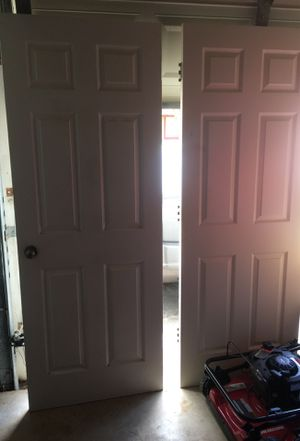 2 doors selling together for Sale in San Antonio, TX