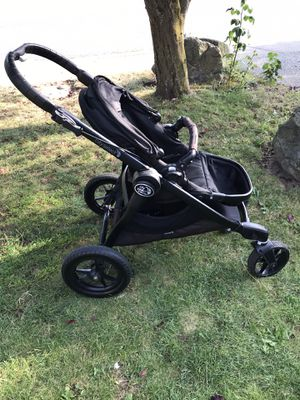 Stroller/ Baby Jogger City Select and adapters (2nd Seat and Maxi-Cosi car seat) for Sale in Arlington, WA