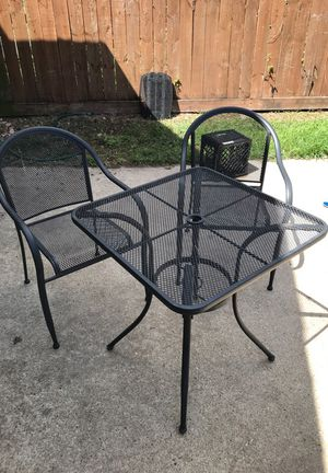 Black Outdoor Table for Sale in Houston, TX