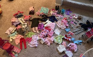 Doll clothes, shoes and accessories for Sale in Brecksville, OH