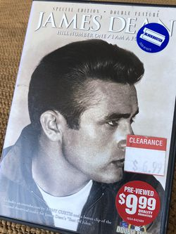 James Dean: Double Feature DVD (2 Films) for Sale in Fountain Valley,  CA