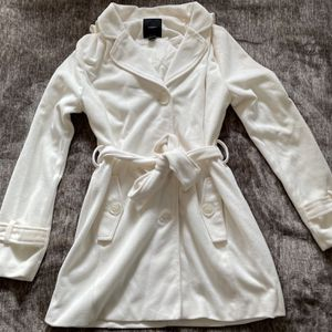 White Peacoat for Sale in Squaw Valley, CA