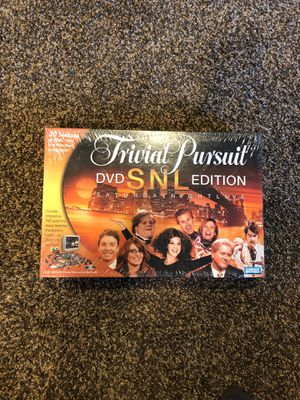 Saturday Night Live Trivial Pursuit DVD Edition for Sale in Oskaloosa, IA