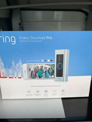 Ring doorbell Pro for Sale in Rochester, NY