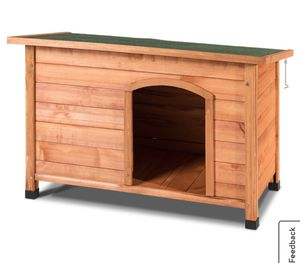 Wood Dog House Pet Shelter Large Kennel Weather Resistant Home Outdoor Ground for Sale in Alta Loma, CA
