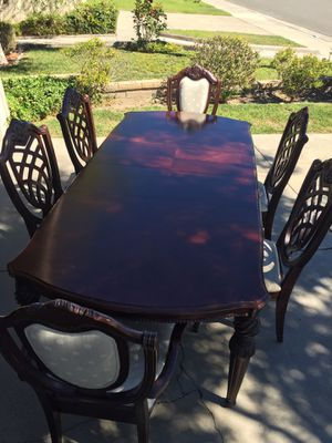 Dining table (formal). Beautiful! for Sale in Upland, CA