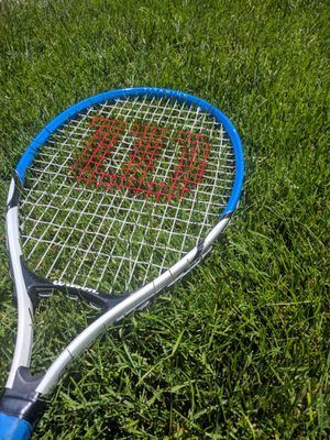Wilson Titanium Tennis Racket for Sale in Salt Lake City, UT
