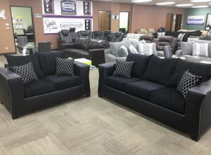 Living room sofa and El Rio furniture finance available down payment $39 1456 belt line rd suite 121 Garland tx 75044 Open from 9:30-8:30 for Sale in Garland, TX