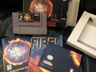 NBA Jam Tournament Edition For SNES SUPER NINTENDO for Sale in SeaTac,  WA