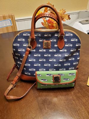 Dooney and Bourke Seahawks Purse and Wallet for Sale in Elma, WA