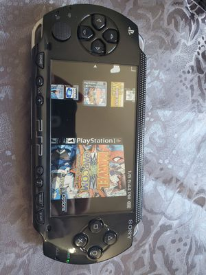 BLACK * PSP * WITH 5,000 GAMES !!! for Sale in Santa Ana, CA