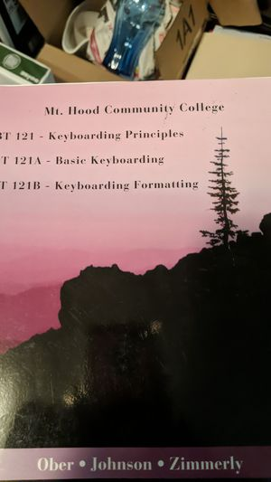 Mt. Hood Community College Keyboarding Book for Sale in Vancouver, WA