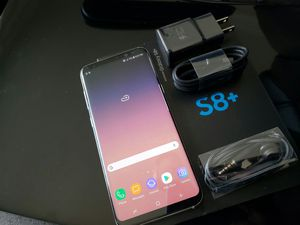 Samsung Galaxy S8 plus , UNLOCKED . Excellent Condition ( as like New) for Sale in Springfield, VA