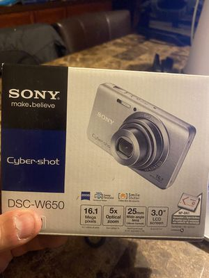 Sony cyber shot and Olympus lens (2 cameras) for Sale in Pflugerville, TX