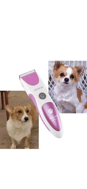 CharaVector Dog Grooming Kit - Rechargeable Cordless Pet Grooming Clippers & Complete Set Tools - Professional Low Noise Safety Family Pets Grooming for Sale in Ontario, CA