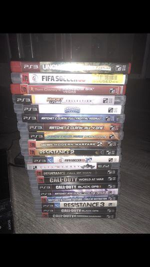 20 video game for PlayStation ps3 $125!!! 20 video juegos para PlayStation ps3 $125 for Sale in Ashburn, VA