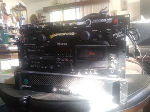 American audio. CDI-500 mp3.$320.-Aero mix microphones$400.-Power Conditioner 1620 power pro$50.-Deren. DNT625. $650. Ingenco. TSA. 0252. $40 for Sale in Hayward, CA