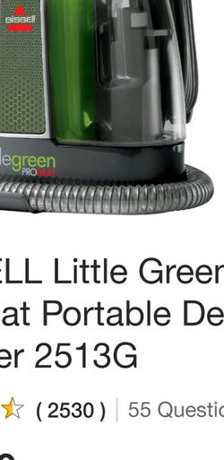 Bissell Little Green PROHeat Portable Shampooer for Sale in Los Gatos,  CA