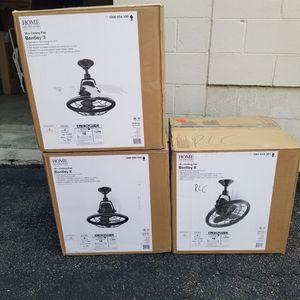 """Bentley II 18"""" Indoor/Outdoor Oscillating Ceiling Fan (3) $110 Each for Sale in Cary, NC"""