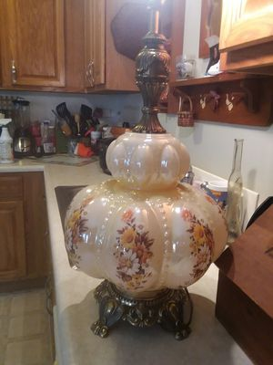 1967 Rare Antique Blown Glass lamp No SHADE for Sale in Columbus, OH