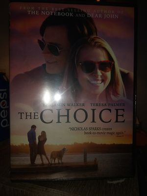 The Choice (dvd) Brand New/Sealed for Sale in Tucson, AZ