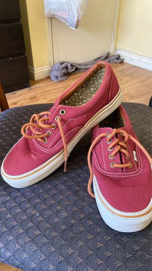 Vans authentic canvas skate shoes for Sale in Hawaiian Gardens, CA