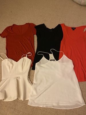 Women's Clothing (sizes Xxs, small , 2 , 6 but all fit like xs or small) 2 small stains for Sale in Los Angeles, CA