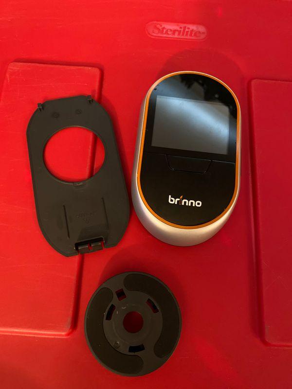 Brinno door camera with knocking sensor included