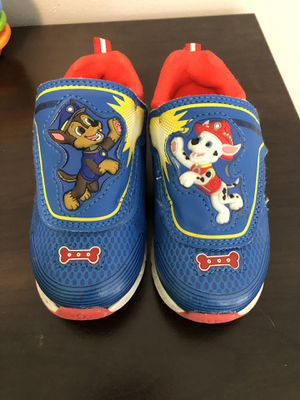 Toddler Boy Paw Patrol Shoes Size 8 for Sale in Kingsport, TN