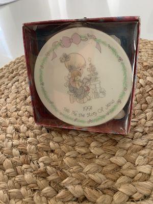 """""""Precious Moments """" Plate ornament for Sale in Lathrop, CA"""