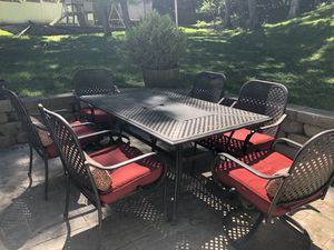 Hampton Bay 7pc patio dining set for Sale in Wildwood, MO