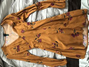rust flower dress for Sale in San Diego, CA