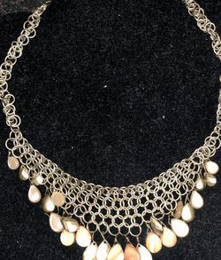 Gold Tone Necklace for Sale in Houston,  TX