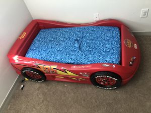 RACECAR BED! With new mattress for Sale in Palm Bay, FL