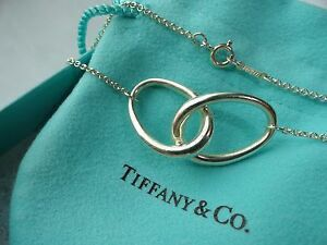 RARE Tiffany & Co. Interlocking Oval Link Necklace for Sale in Orland Park, IL