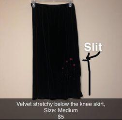 Velvet skirt for Sale in Wichita,  KS