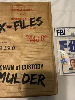 X Files Lanyard And Cooler Bag for Sale in Munroe Falls,  OH