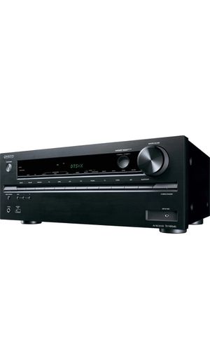 Onkyo TX-NR646 7.2-channel home theater receiver with Wi-Fi®, Bluetooth®, Apple® AirPlay®, and Dolby Atmos® for Sale in Los Angeles, CA